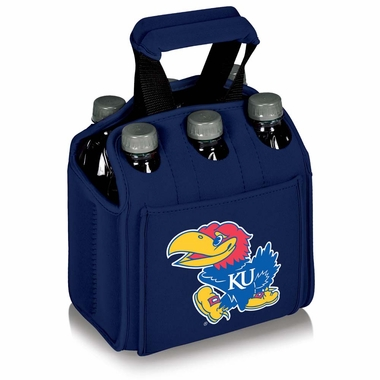 Kansas Beverage Buddy (6pk) (Navy)