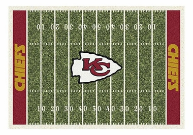 "Kansas City Chiefs 5'4"" x 7'8"" Premium Field Rug"