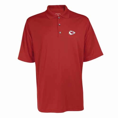 Kansas City Chiefs Mens Exceed Polo (Color: Red)