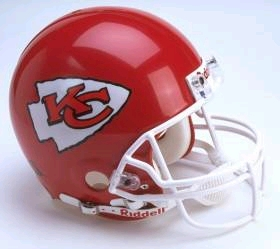 Kansas City Chiefs Riddell Deluxe Replica Helmet
