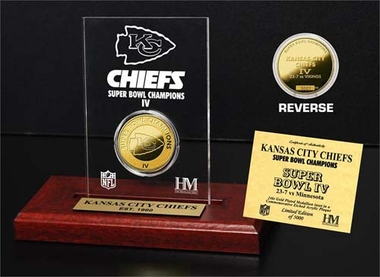 Kansas City Chiefs Kansas City Chiefs SB Champs Etched Acrylic
