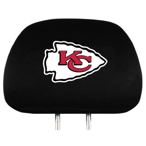 Kansas City Chiefs Headrest Covers