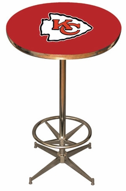 Kansas City Chiefs Team Pub Table