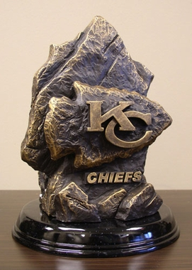 Kansas City Chiefs Tim Wolfe Statue