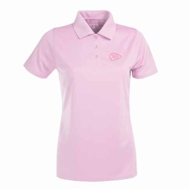 Kansas City Chiefs Womens Exceed Polo (Color: Pink)