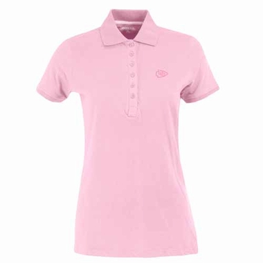 Kansas City Chiefs Womens Spark Polo (Color: Pink)