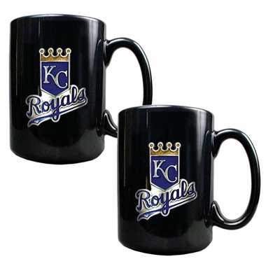 Kansas City Royals 2 Piece Coffee Mug Set