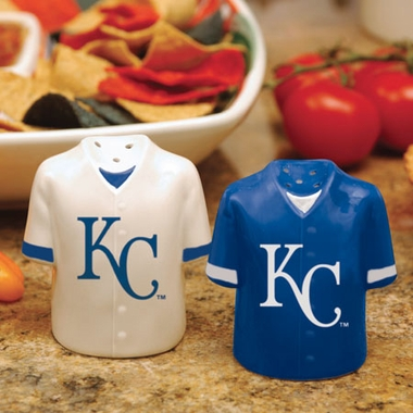 Kansas City Royals Ceramic Jersey Salt and Pepper Shakers
