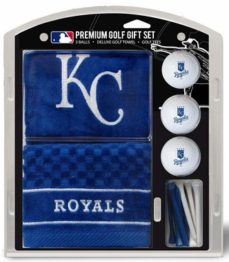 Kansas City Royals Embroidered Towel Golf Gift Set
