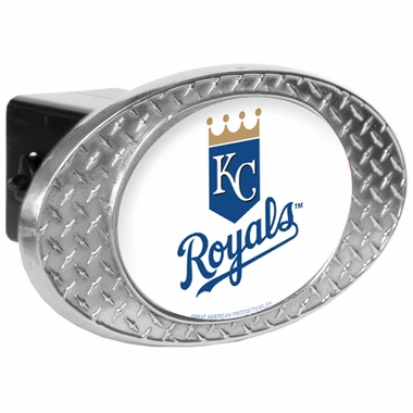 Kansas City Royals Metal Diamond Plate Trailer Hitch Cover