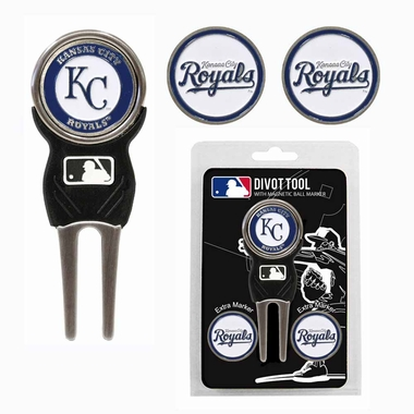 Kansas City Royals Repair Tool and Ball Marker Gift Set