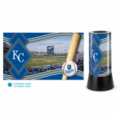 Kansas City Royals Rotating Lamp
