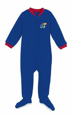 Kansas Infant Footed Sleeper Pajamas