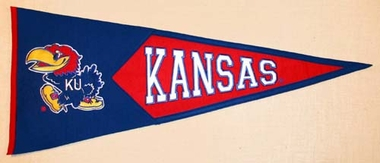 Kansas Large Wool Pennant