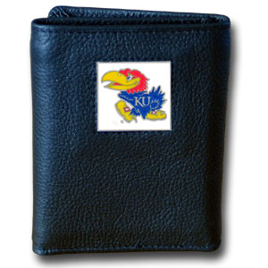 Kansas Leather Trifold Wallet (F)
