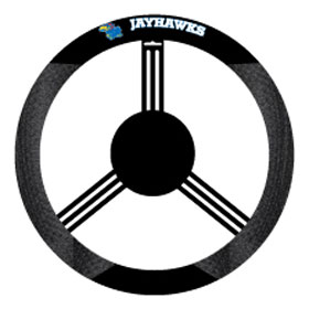 Kansas Jayhawks Steering Wheel Cover - Mesh