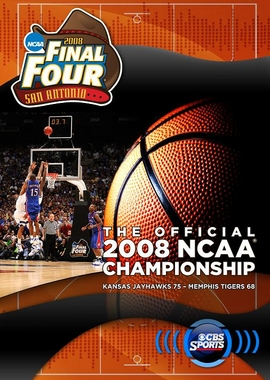 Kansas National Champs 2008 March Madness DVD