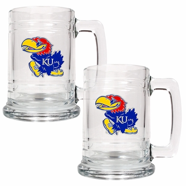 Kansas Set of 2 15 oz. Tankards