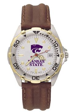 Kansas State All Star Mens (Leather Band) Watch