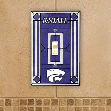Kansas State Art Glass Lightswitch Cover