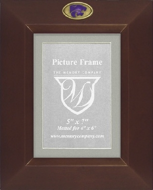 Kansas State BROWN Portrait Picture Frame