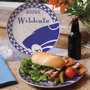 Kansas State Gameday Ceramic Plate
