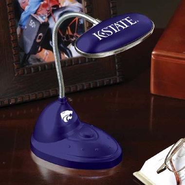 Kansas State Mini LED Desk Lamp