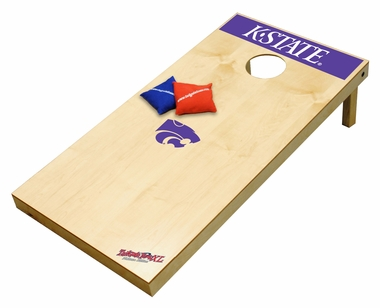 Kansas State Regulation Size (XL) Tailgate Toss Beanbag Game