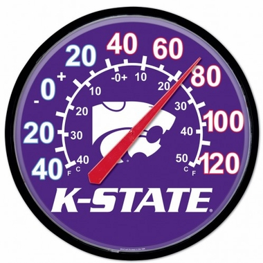 Kansas State Round Wall Thermometer