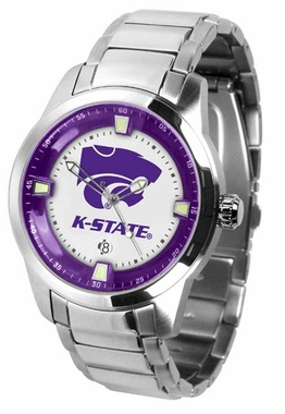 Kansas State Titan Men's Steel Watch