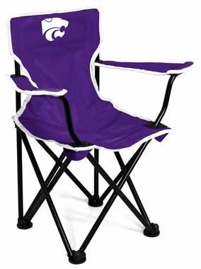 Kansas State Toddler Folding Logo Chair