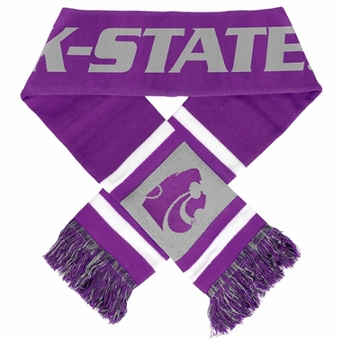 Kansas State Wildcats 2012 Team Stripe Knit Scarf