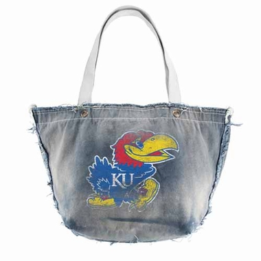 Kansas Vintage Tote (Denim)