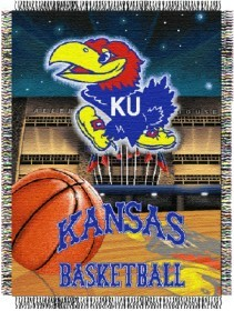 Kansas Woven Tapestry Throw Blanket