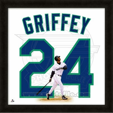 "Ken Griffey, Jr., Mariners UNIFRAME 20"" x 20"""