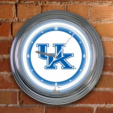 Kentucky 15 Inch Neon Clock