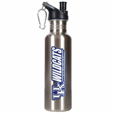 Kentucky 26oz Stainless Steel Water Bottle (Silver)