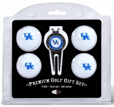 Kentucky 4 Ball and Divot Tool Set
