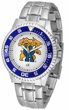 Kentucky Competitor Men's Steel Band Watch