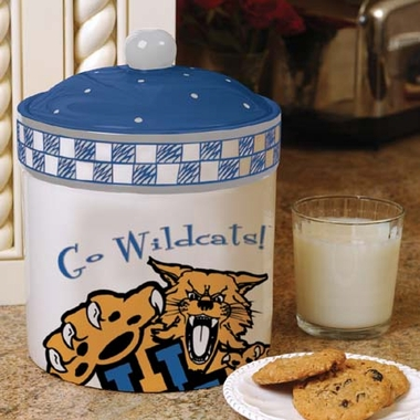 Kentucky Gameday Ceramic Cookie Jar