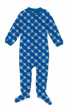 Kentucky Infant Footed Full Zip Raglan Coverall Sleeper