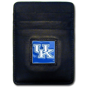 Kentucky Leather Money Clip (F)