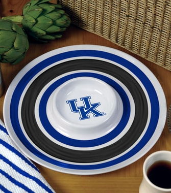 Kentucky Plastic Chip and Dip Plate