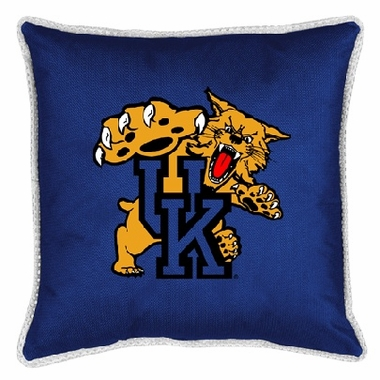 Kentucky SIDELINES Jersey Material Toss Pillow
