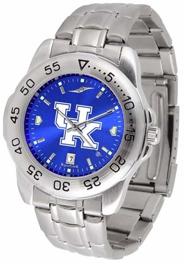 Kentucky Sport Anonized Men's Steel Band Watch