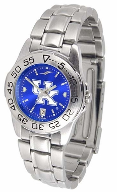 Kentucky Sport Anonized Women's Steel Band Watch