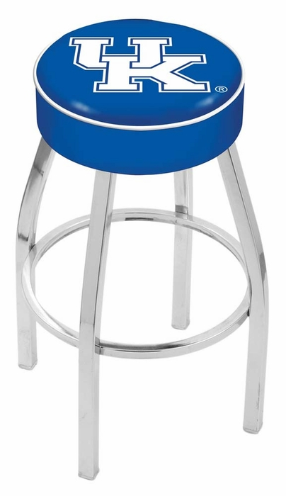 Kentucky Quot Uk Quot 25 Inch L8c1 Chrome Bar Stool