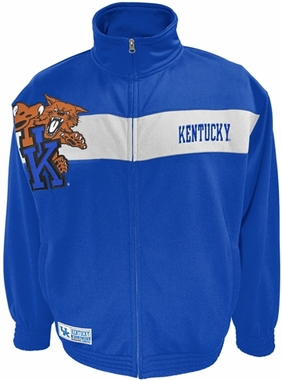 Kentucky Victory March Full Zip Colorblocked Track Jacket