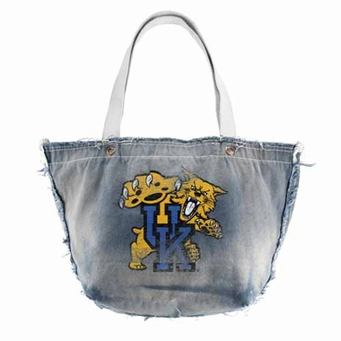 Kentucky Vintage Tote (Denim)