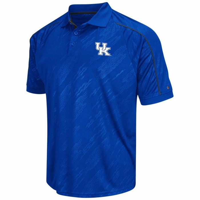 kentucky wildcats men 39 s sleet short sleeve polo shirt